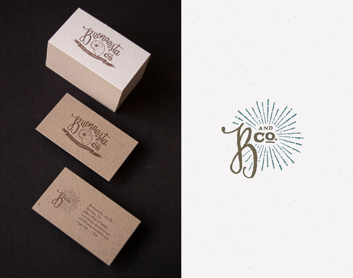 Buenavista and Co. letterpress